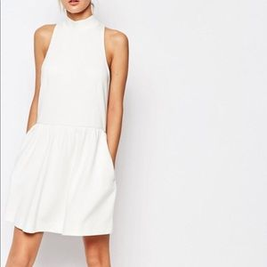 Whistles Exclusive High Neck Prom Dress - Asos